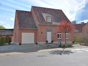 Deze jonge en gezellige pastorijwoning heeft een uitzonderlijke ligging nl. nabij het centrum van Michelbeke in combinatie<br /> met de rust en schoo