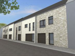 Lot 1 van ca 265 m² voor een te bouwen gesloten bebouwing met keuze voor ontwerp en afwerking. Gelegen vlakbij het centrum van Lint en op 1 km va