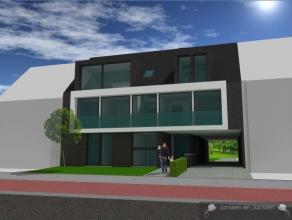 Luxe nieuwbouw appartement op het 1ste verdiep met woonruimte van 85m2 in hartje Gooreind-Wuustwezel (Linkse appartement) Ligging: Het pand is gelegen