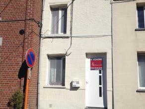''Rue Tombou 106Séjour, cuis. équip, 1 ch, bureau, sdd, WC, coin buanderie. Cour, jardin. Chauff. central gaz.''Offre à partir de