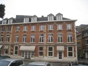 Knus en instapklaar dakappartement met één slaapkamer gelegen op de derde verdieping nabij centrum Leuven.  Het appartement bestaat ui