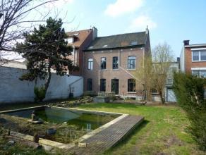 Adresse: 1800 Vilvoorde - Nijverheidsstraat 4 Merveilleuse maison de maître (382m²) sur un parcelle de 760m², Plusieurs possibilit&ea