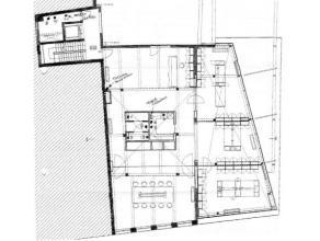 Aangename, ruime loft (245m²) op een toplocatie in het centrum van Mechelen.   Deze open ruimte, gelegen op de tweede verdieping, wordt op hede