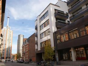 Zeer gezellig 1-slaapkamerappartement gelegen in het centrum van Leuven.  Het appartement bestaat uit 1 slaapkamer, een lichtvolle leefruimte, een v