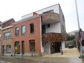 Nieuwbouw duplex-appartement met ruim terras, gelegen op een uitstekende locatie nabij Leuven, station Heverlee, scholen en winkels.  Het appartemen