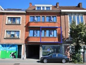 Appartement met 2 kamers, gelegen in een gerenoveerde appartementsblok (2016), vlak buiten de stadsrand van Leuven, op 250m gelegen van het station va