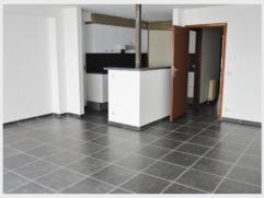 Appartement met 2 slaapkamers en terras te huur in het centrum van Diest, Koning Albertstraat 63.Het appartement is gelegen in een gebouw met kantoorr