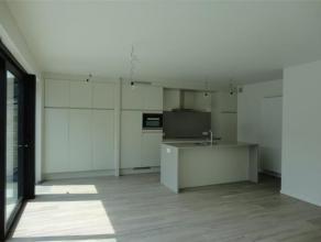 Nieuwbouw appartement met zéér ruim zonneterras te huur te Schaffen - Diest, Schoonaarde 62 bus A1. Dit luxueus nieuwbouw appartement is