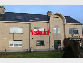 DUPLEX APPARTEMENT met 2 slaapkamers, terras en garage te huur te Diest, Sint Hubertusplein 40.Het appartement is gelegen op de eerste verdieping en o