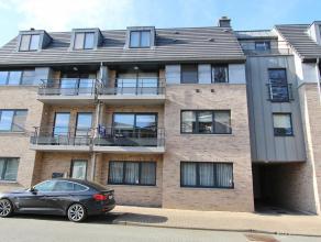 Mooi appartement met 2 slaapkamers, 2 terrassen en garage te huur in het centrum van Diest, Engelandstraat 37. Het appartement is gelegen op de eerste