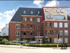 Unieke duplex penthouse met 3 slaapkamers, 3 badkamers, bureelruimte en 2 garages met een bewoonbare oppervlakte van 220 m² De INDELING : - kelde