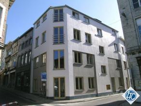 Zeer mooi en goed gelegen nieuwbouwappartement te Tienen centrum. Het appartement heeft 2 slaapkamers, grote living met luxueuze ingebouwde keuken, mo