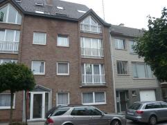 Appartement op de eerste verdieping te Hasselt.Dit appartement van +/- 80m² bestaat uit twee slaapkamers, ingerichte keuken en badkamer, l