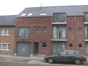 Knus appartement te Wimmertingen op de eerste verdieping met living en open keuken, ingerichte badkamer, één slaapkamer, kelderberging,