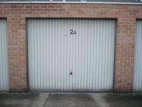 Gunstig gelegen garagebox tussen de Grote en Kleine Ring.