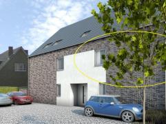 """Residentie """"Blanc Et Or"""" bestaat uit 5 moderne appartementen op een toplocatie in het centrum van Alken.  De uitstekende ligging , de moderne  hedenda"""