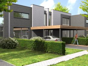 Aan de Bluelofts in Hasselt is het Jordaenspark terug te vinden. Een residentieel park bestaande uit verschillende woningen. Deze eengezinswoning is v