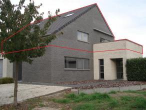 Uniek energiezuinig duplex-app. groot 130m² met garage en ruime kelder, landelijk doch centraal gelegen te Vliermaal met een vlotte verbinding na