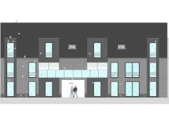 Nieuwbouw duplex-appartement kavel 1.2 in Res. 'SCHOONVELD' Schoonbeek. Opp. 128m²+ 26m² terras. Indeling: 1ste verd.: inkomhal, apart toile