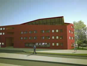 Nieuw bureelplatform te huur van 731 m2  met  15 parkings in  nieuwbouwcomplex op zichtlocatie  , invalsweg centrum Genk. Kan zowel gehuurd als gele