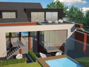 Modern ingericht duplex-appartement van 102m2 gelegen in een kleinschalig renovatieproject met 3 slechts appartementen.  Het project is gelegen lang