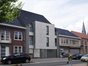 Stijlvol duplex appartement in centrum (app3 links). 2de verdieping   : hal - toilet - living met open keuken - wasplaats/berging - terras.  3de verdi