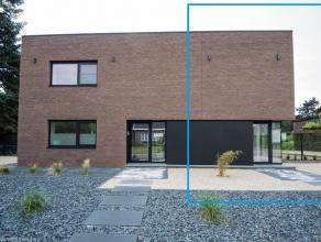 Op de Heeldstraat te Genk (Bret) kan u deze prachtige nieuwbouw huurwoning vinden, afgewerkt met luxueuze materalen. gelijkvloers: Inkom, gasten toil