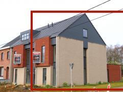 NIEUWBOUW ! Schitterende, moderne energiezuinige eengezinswoning (half open bebouwing - 187m² NBO) met mogelijkheid tot 4 slaapkamers (thans 2 in