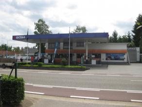 Te huur met overname handelsfonds: Garage met showroom, verkoopterrein en appartement op een unieke locatie: N72 - baan Zonhoven - Beringen, nabij op