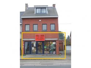Handelsruimte gelegen langs de Guido Gezellelaan te Heusden-Zolder, een uitstekende commerciële ligging en dus een zeker pluspunt voor de visibil