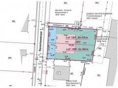Mooi perceel bouwgrond voor halfopen bebouwing met een oppervlakte van 4a 52ca.Ligging Het perceel is fijn gelegen aan de Renerkesstraat te Genk.Kenme