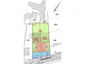 Perceel bouwgrond voor halfopen bebouwing met een oppervlakte van 7a 24ca.Ligging Het perceel is goed gelegen aan de Keinkesstraat te Genk. Kenmerken