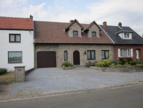 Woning met 3 slpks gelegen op een perceel van +/- 10a in een rustige omgeving en toch nabij de verbindingsweg Hasselt-Genk.