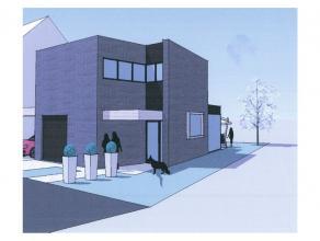 Bouwgrond van 3a 91caopen bebouwingmet goedgekeurd bouwplan voor moderne woning.De grond is gelegen in een zeer rustige omgeving, nabij he