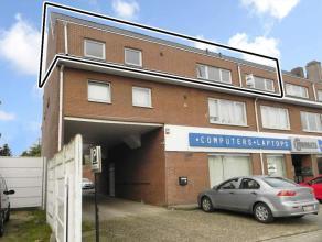Verzorgd appartement met 2 slaapkamers op de tweede verdieping. Aan de Rijksweg gelegen in Dilsen-Stokkem, kortbij winkels en scholen.APPARTEMENT (pla