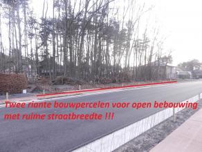 Ligging en omgeving Beide bouwpercelen voor OB genieten een optimale ligging aan de Weg naar Zwartberg, zeer centraal met een vlotte bereikbaarheid na