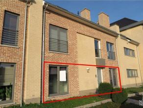 Gelijkvloers appartement van ca. 136m² met 3 slaapkamers, terras en autostandplaats in kelder, gelegen op een aangename locatie.GELIJKVLOE