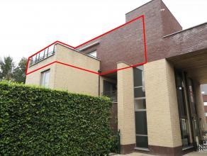 Mooi, vrijstaand appartement, met ruim terras (±16m²) en zicht op grote tuin; autostandplaats en aparte kelder, op wandelafstand van het c