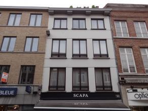 Ruim en luchtig appartement met 2 slaapkamers in het stadscentrum van Sint-Truiden .Het appartement bestaat uit living, keuken, berging, badkamer en 2