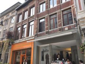 Mooi en verzorgd 1-slaapkamerappartement in hartje Leuven, vlakbij de Vismarkt. Oppervlakte van +-30m2, met ingerichte keuken, badkamer met douche. Al