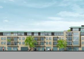 Dit gelijkvloers appartement 0.14 met 2 slaapkamers en dressing word opgericht met 133 m² in het centrum van Lommel. Hoge afwerkingsgraad met vlo