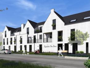 HERFSTVOORWAARDEN Nieuwbouwappartement op gelijkvloers met 1 slaapkamer en terras/tuin, gelegen in het centrum van Lommel. Aankoop onder BTW-stelsel!