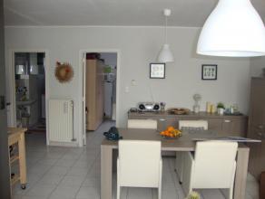 Mooi gelijkvloers appartement met 1 slaapkamer en autostaanplaats in het centrum van Hechtel EPC 198.