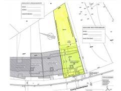 Projectgrond te Genk - Zwartberg (een deelgemeente van de stad Genk):- perceelsoppervlakte: 6a05ca- reeds vergunning afgeleverd voor het bouwen van 7