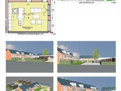 Appartement, Lindedorp 14 A:- bevindt zich op het gelijkvloers- bewoonbare oppervlakte: 76,2m²- woonkamer van 35,75m² met open
