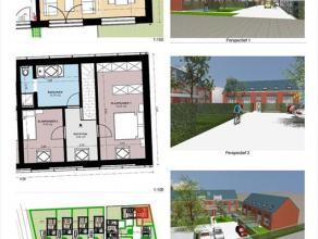 Kleine woning met tuintje, Lindedorp 12 bus 2:- bewoonbare oppervlakte: 97,44m²- woonkamer van 33,1m² met open keuken- 2 slaap