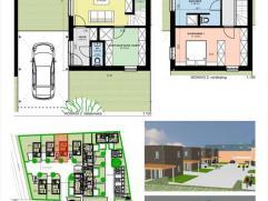 Gezinswoning met tuin, Nonnenschoolplein te Peer:- perceelsoppervlakte: 2a30- bewoonbare oppervlakte: 117m²- woonkamer van 38,2mÂ&su