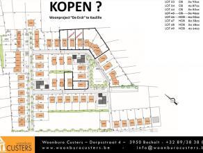 Lot 44, gelegen in een woonuitbreidingsgebied op de verkaveling genaamd 'De Erck'. Dit perceel biedt de mogelijkheid voor een open bebouwing waarvan d