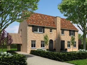 Nieuwbouwproject in klassieke stijl bestaande uit 2 pastorij/herenwoningen op een zeer aangename locatie te OVERPELT (nieuwe verkaveling aan Ringlaan