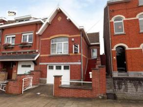 Charmante petite maison idéalement située sur les hauteurs de Seraing. Elle bénéficie aussi d'un agréable jardin, e